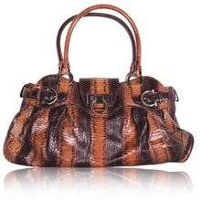 2488c2a5fe1a Salvatore Ferragamo Brown Python Shoulder Bag