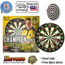 Harrows 2 In 1 Family Dart Board Dual Side