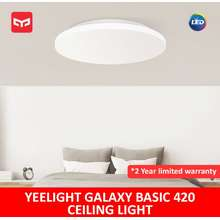 Yeelight 42Cm Galaxy Basic Ceiling Light (Sg Edition) Led Smart Dimmable Works With Google Home, Assistance