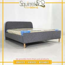 Squirrel Simple Design Fabric Bed Frame Only- Sb-Ms052/ Furniture Installation Available
