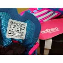 adidas Sepatu Bola / Soccer Adidas Adizero F5 Pink Blue - Fg