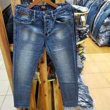 Superdry Celana panjang pria terbaik - Biru Muda 28 / celana jeans terbaru / celana jeans original cambodja / celana jeans terbaru (EU:33)