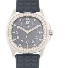 Patek Philippe Aquanaut Luce Quartz Diamond Blue Dial Ladies Watch 5067A 025