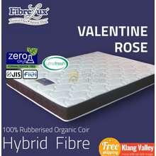"Fibrelux Valentine Rose, 5"" Or 7"" Coconut Fibre Mattress (King, Queen, Super Single, Single)"