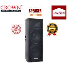 Crown Speaker System Bf-1508