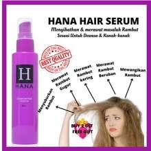 Hana Serum Vitamin Rambut Hair Expert Gugur/ Beruban/ Kering /Berbau /Kering /Kusut /Gugur /Lebatkan Rambut