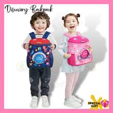 Kocotree Discovery Backpack Design B Schoolbag Kids Bag Beg Budak Beg Sekolah Beg Tadika Readystock Malaysia