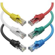 red Copper 5m LSZH AWG 26//7 Digitus CAT 6 U-UTP Patch Cable Network LAN DSL Ethernet Cable