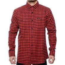 Bloods Kemeja Flanel Shirt Giander 03 Black Red