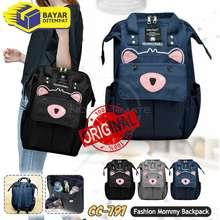 baby_leon TERMURAH!! Tas bayi Backpack BABY LEON Tas Perlengkapan Baby Ransel Tas Popok
