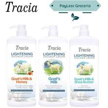 TRACIA Lightening Goat Milk / Shea Butter Shower Cream 1000Ml
