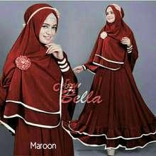 Bella gamis / baju / pakaian wanita muslim syari
