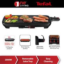 Tefal Plancha Ultra Compact Successor Table Grill Tg3918