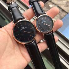 DW [Ready Stock] Black Couple Watch