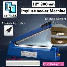 "Kt Ware 300Mm 12"" Impulse Sealer/ Sealing Machine/ Plastic Sealer Packing Machine"
