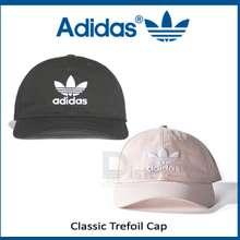 da41c7f7f12 adidas Unisex Trefoil Classic Cap Black White Pink