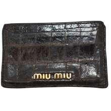 c202873e1650 Shop Authentic Miu Miu Wallets in SG June, 2019 | Miu Miu SG