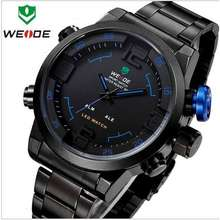 WEIDE Ready Stock Original Led Men Sport Military Watches Water Resistant Blue