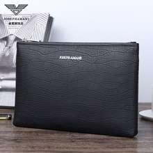 Armani Joseph Armani Handbags😎Men'S Leather Clutch 8902205-3 8902205-3A