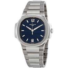 Patek Philippe Nautilus Automatic Blue Opaline Dial Ladies Watch 7118/1A