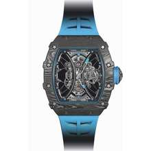 Richard Mille Tourbillon Pablo Mac Donough Black Dial Watch RM 53 01