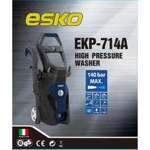 Esko High Pressure Cleaner Washer EKP-714A-140 Bar 1800W Water Jet Italy Design