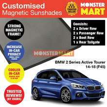 97ffb5ebd76 BMW 2 Series Active Tourer 2014-2018 (F45) Customised Car Accessories Window  Magnetic