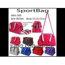 EMO Sport Bag / Gym Bag / Tas Olah Raga Wanita Cewek