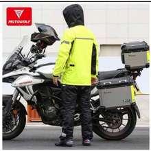 MOTOWOLF Raincoat Terno With Pants Mdl#0401