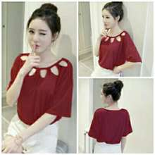 Ladies Fashion Blouse Atasan Wanita Model Baru   Blouse Cewek   Blouse  Wanita   Baju Wanita 518584de0f