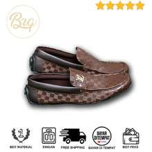 Louis Vuitton Sepatu Lv Pria Slip on Casual Loafer Kantor Kerja (LOKAL) e920a2e037