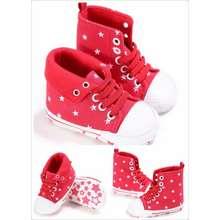 Mothercare sepatu bayi   prewalker shoes - red star ae76967fd4