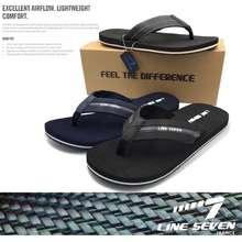 Line7 🔥🔥🔥Hot Ready Stock Line 7 Men'S Sport Selipar Slippers Casual Branded Slip On Slipper Sandals Original Lasak Selesa