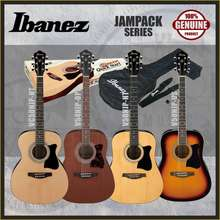 Ibanez Acoustic Guitar Jampack (Package) (Free Bag,Strap,Pick,Tuner,Pouch)