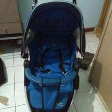 Chloé Preloved Stroller Baby (biru)