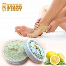 Tatak Pinoy Natural Lemon Foot Scrub Skincare Ultra Hydrating And Exfoliating Foot Scrub