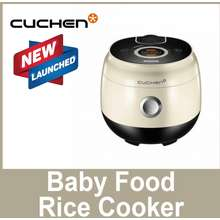Cuchen Cje-Cd0610 Creamy 6 People Rice Cooker Led Touch Panel Double