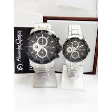 Alexandre Christie jam tangan pasangan original ac 6473 svbl cp 62ba36d508