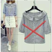 unicell distro Toko Atasan Wanita blouse casual Kyoto   Kemeja Blouse tanpa  Lengan   blus kasual   c21058deaf