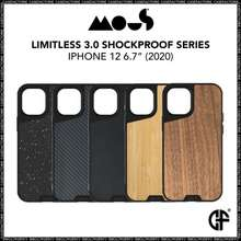 Mous Case For Iphone 12 Pro Max 12 Pro Mini Limitless 3.0 Shockproof Case
