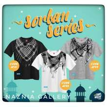 Ammar Kids Kaos Anak Sorban Series | Baju Atasan Anak Lelaki Muslim Motif Islami