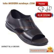 Flip Flop BARNETT BL 01 BROWN sepatu casual sopan pria