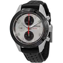 Montblanc Timewalker Automatic Silver Dial Watch 119940