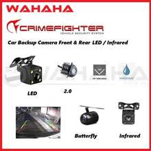 Crimefighter Car Front & Rear View Reverse Camera Parking Camera Led / Ahd / Infrared 120 Degree Wide Angle