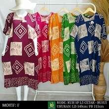 Kencana Ungu Daster Jumbo Label Hitam / Kuh Sp Jumbo Cetak 5L / Cap 5L / Daster Batik