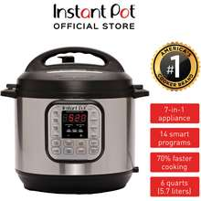 Instant Pot Duo 60 7-IN-1 Multi-Use Programmable Pressure Cooker