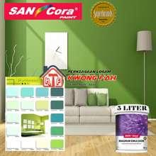 SANCORA Paints Magnum Emulsion Interior 5 Liter (Green) (ME 1141, 5L)