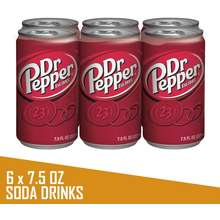89ee8664e28 Dr. Pepper USA Soda 7.5oz x PACK OF 6