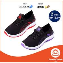 💥[Sc2U] 💥Ship Fast*Kl Stock Casual Women Runing Sport Shoes Shoe Lace Up Breathable Mesh Sneaker