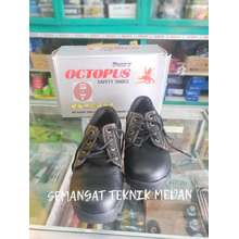 octopus ox301 sepatu safety industrial shoes ox 301 hitam sni